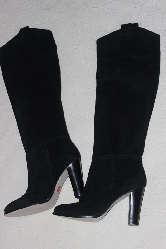 Zara новые высокие сапоги ботфорты р. 39 (ZARA) за 2800 грн.  dc205463630cf