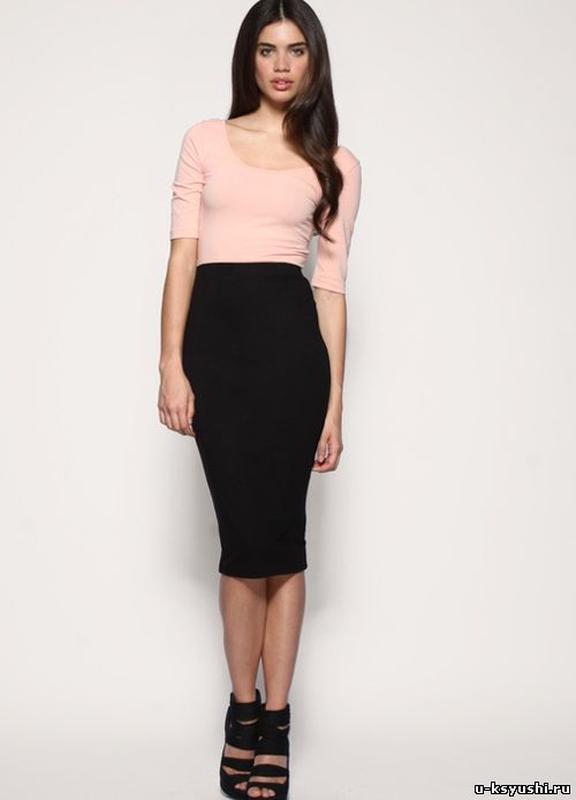Купить стрейчевую юбку карандаш