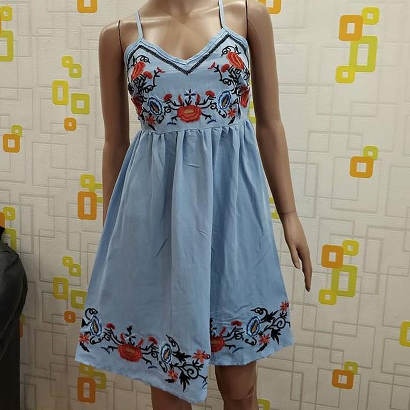 fe02e8dfb4c Сарафаны с вышивкой в наличии цвета очень легкие лен платье летнее1 ...