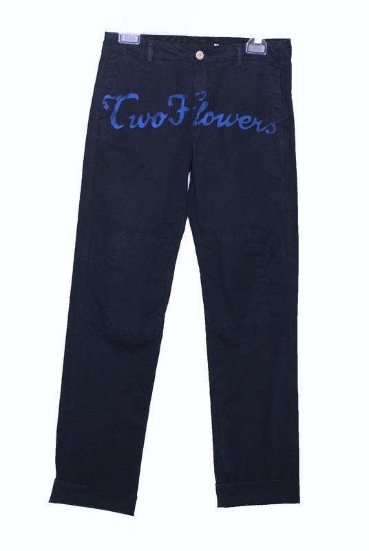 брюки с боковыми карманами 6