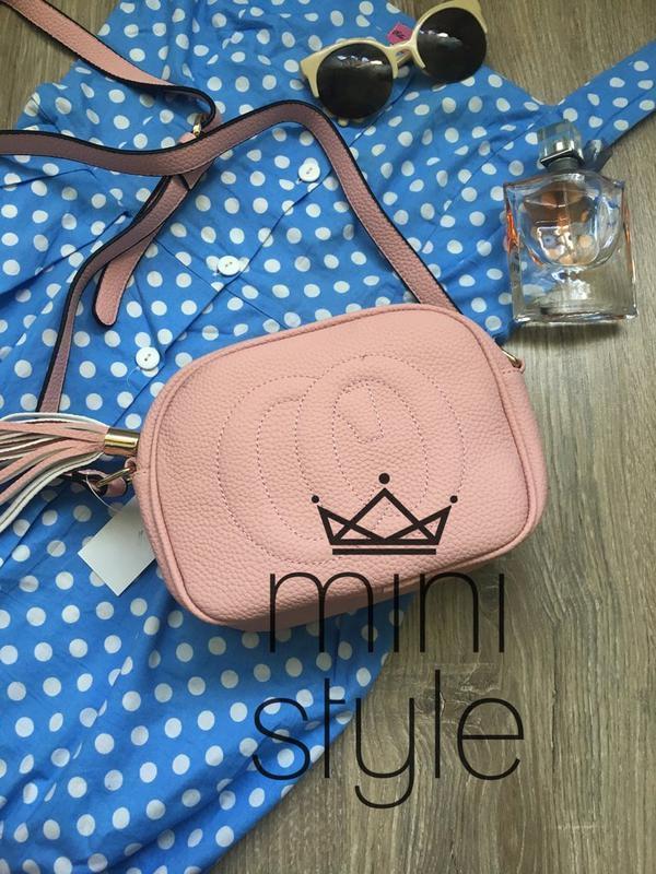 d4f9e5072955 Сумка на длинной ручке цепи cross-body сумочка трендовая и стильная  кроссбоди1 фото