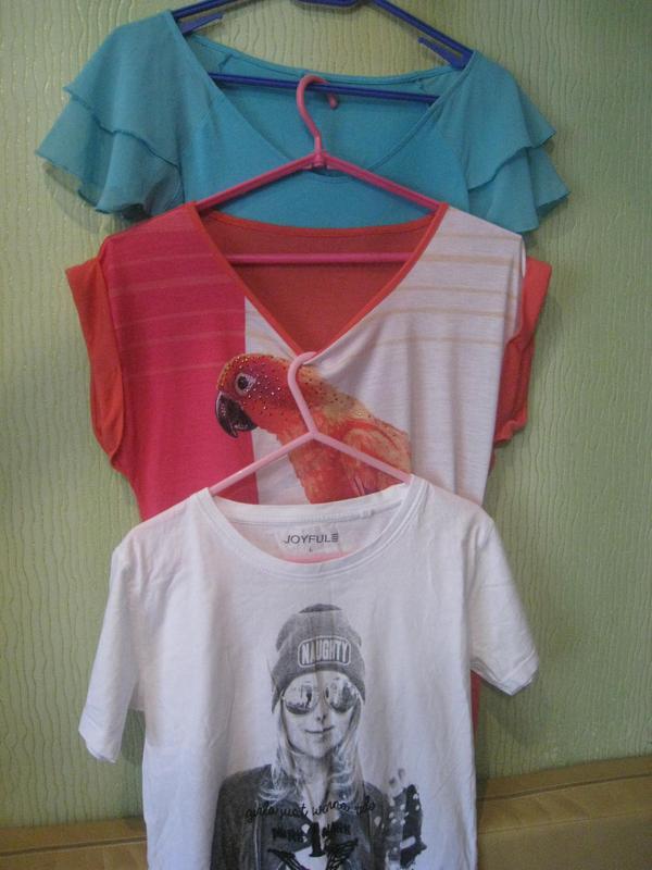 c413aaa8d93 Летние футболки блузки как новые