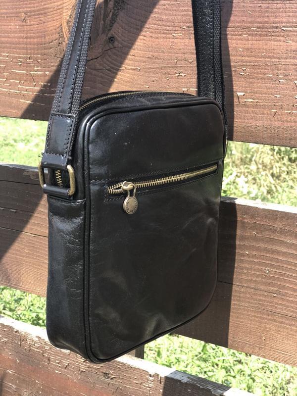 9fe7b20264aa Мужская кожаная сумка vera pelle италия Vera Pelle, цена - 1300 грн ...