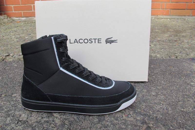 8144ac7550ee Высокие демисезонные кроссовки lacoste explorateur calf 416 Lacoste ...