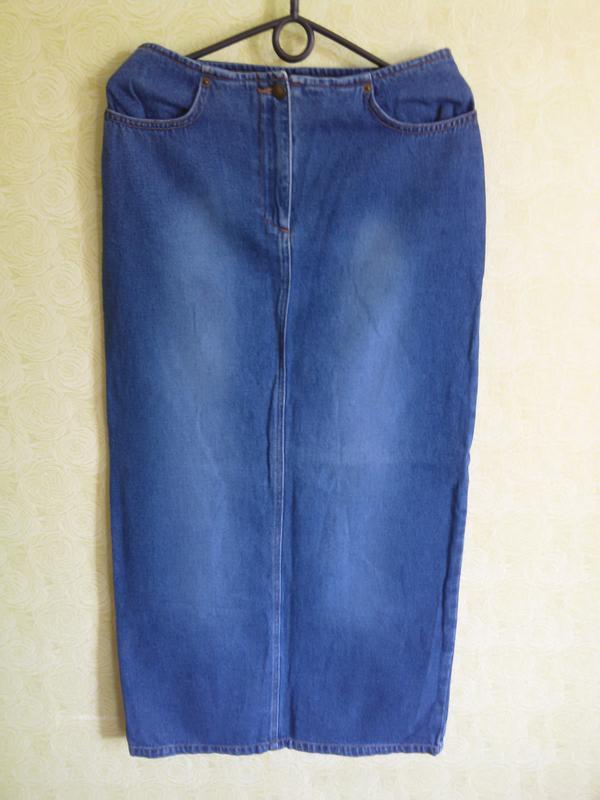 Купить брендовую юбку джинсовую