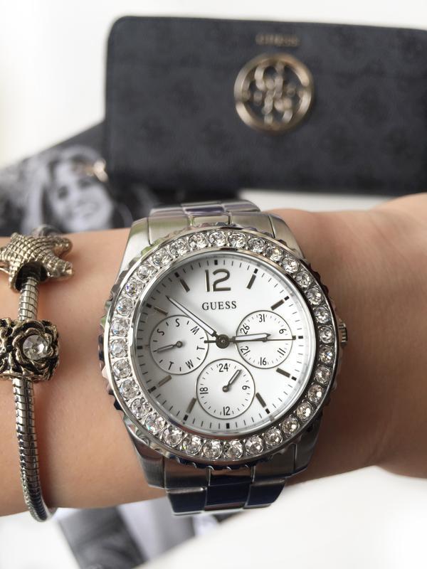 942c3fe3 Очень красивые женские часы guess со стразами! оригинал из сша!1 фото ...