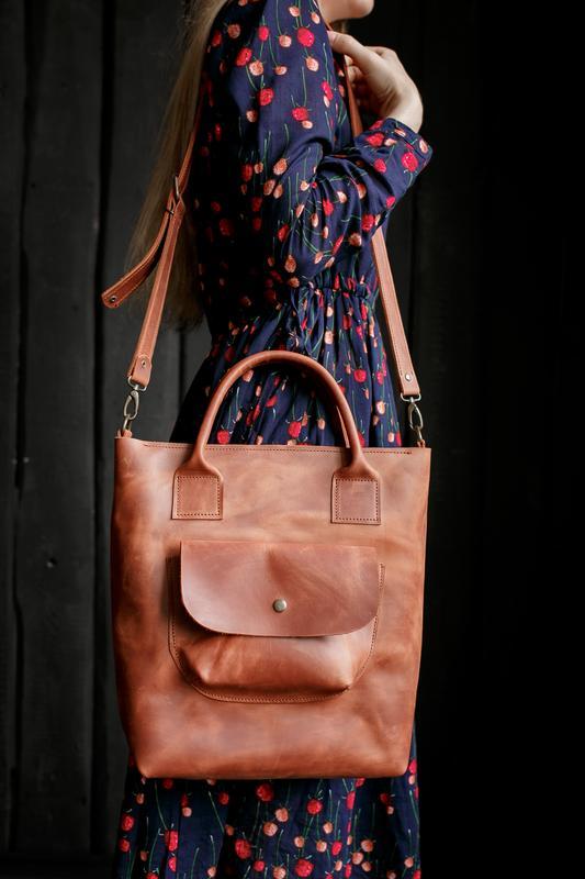b54681a9bb45 Сумка из кожи большая женская сумка для ноутбука сумка из натуральной кожи  для документов1 фото ...