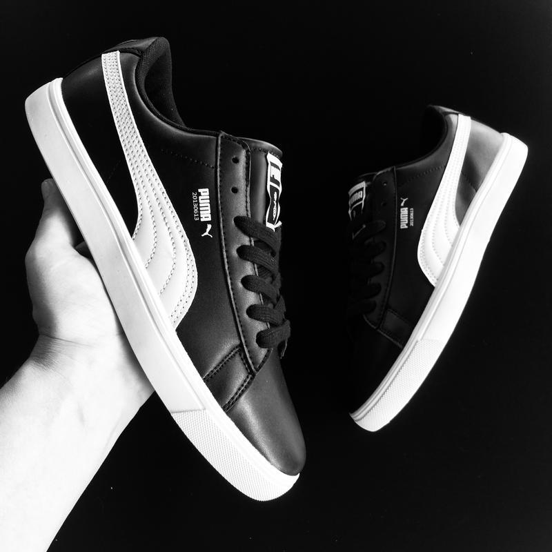 133a3655 мужские кроссовки Puma X Bts Court Star Black Puma цена 1200 грн