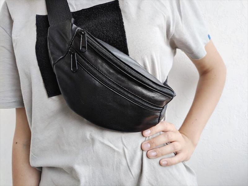 d34bbc3d06d7 Черная бананка,поясная сумочка ,сумка женская ,натуральная кожа,мужская  сумка1 фото ...
