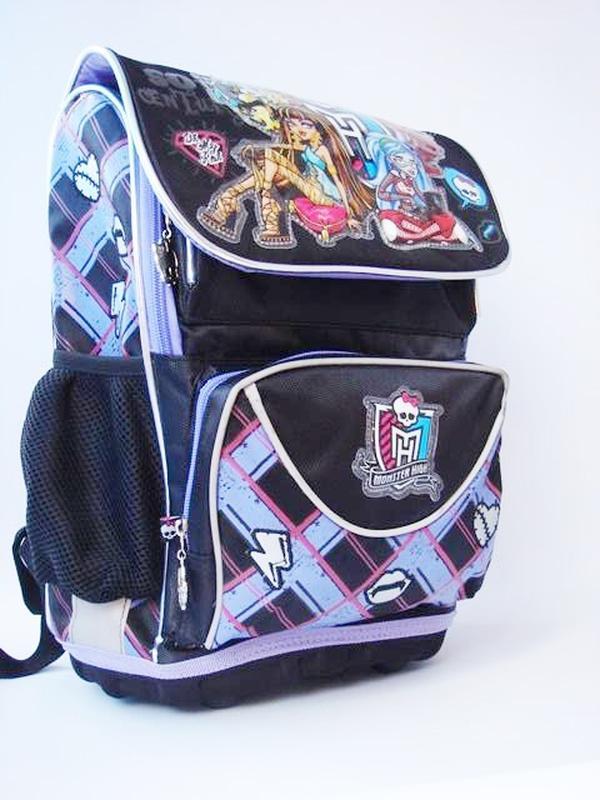 2b8a95edd1ba Школьный, каркасный, ортопедический рюкзак kite monster high1 фото ...