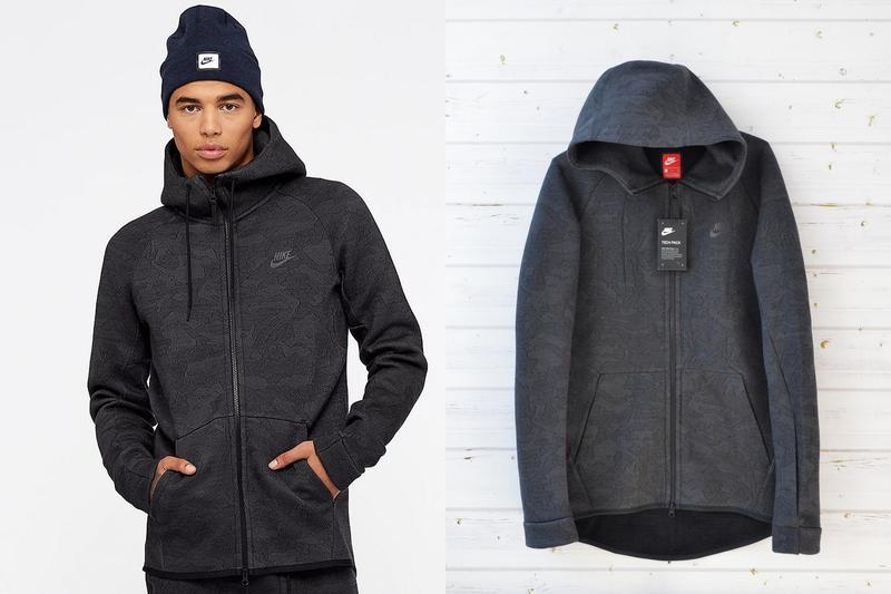 ec237b34 Мужская кофта (куртка найк теч флис ) nike tech fleece hoodie оригинал1 фото