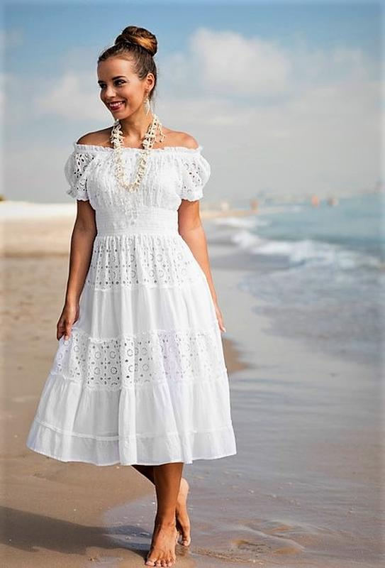 b1df11451fa ... Кружевное расклешенное платье миди с пышной юбкой коротким рукавом  коктейльное m l xl3 фото ...