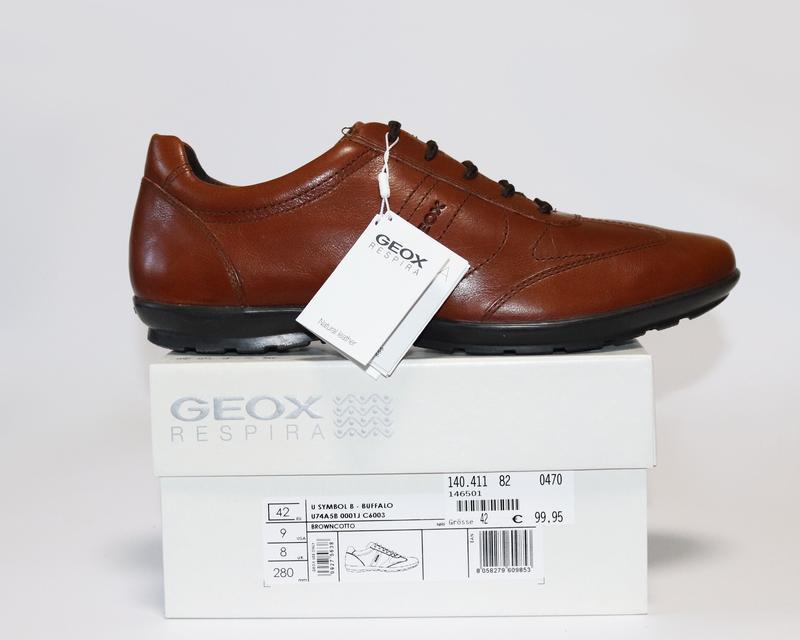 40fc8f9a7 Мужские туфли geox respira оригинал. натуральная кожа. Geox, цена ...