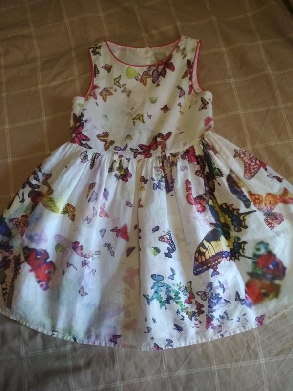 9482356f84cd37a Очень красивое платье на девочку 4-5лет,бу, цена - 70 грн, #14817534 ...
