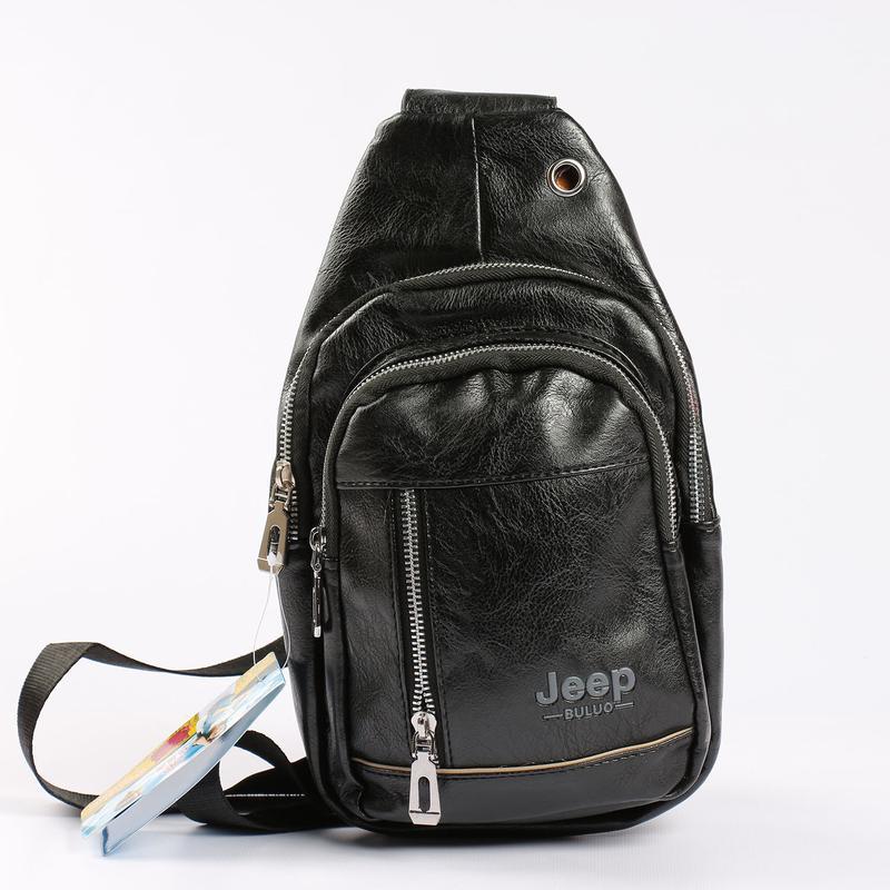 992e19704d1b Удобная мужская сумка на грудь, бананка jeep black, цена - 389 грн ...