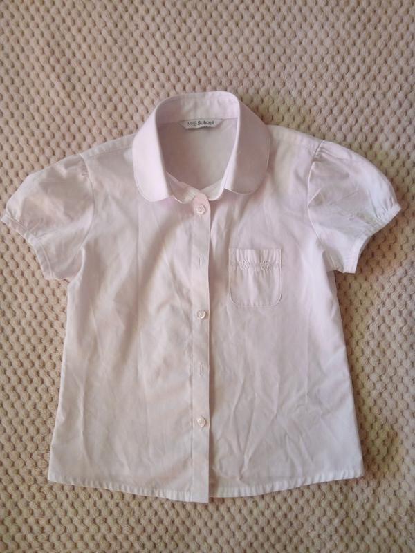29efcb2efd2 Блузка рубашка marks   spenser 6-7 лет рост122 Marks   Spencer