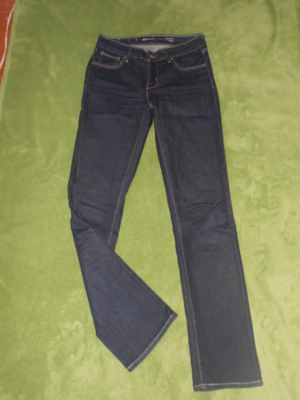 Темно сині класичні джинси з високою талією Levis 6df192805ef37