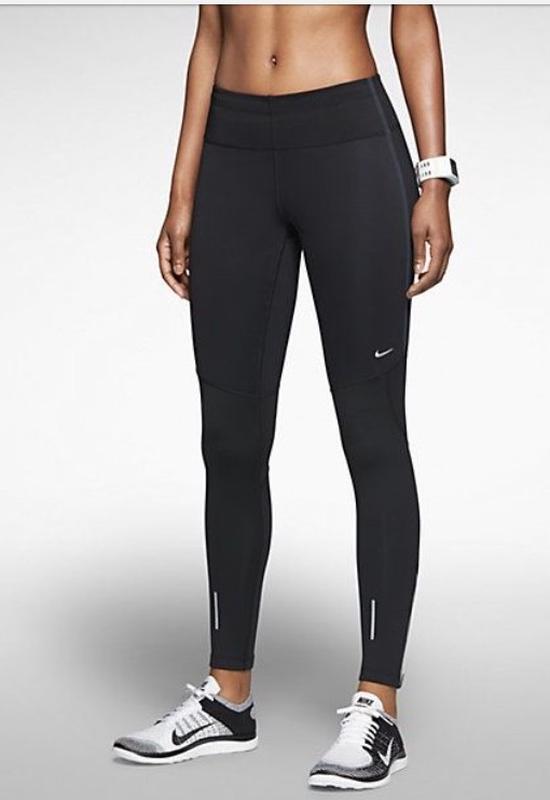 1429eba0 Лосины спортивные тайтсы чёрные nike dri-fit pro combat Nike, цена ...