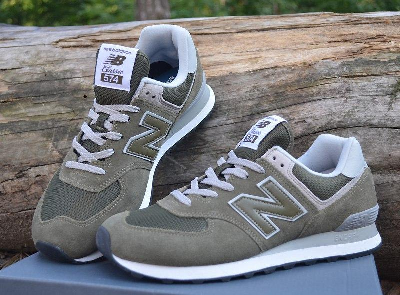 cheap for discount 137b5 9e2f7 Оригинал кроссовки new balance 574 classik(ml574ego), оливковые, размер 40,  44,нью беленс (New Balance) за 1850 грн.
