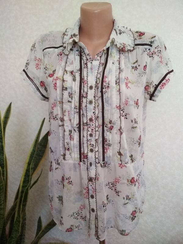a454d54cffb Романтичная шифоновая блуза