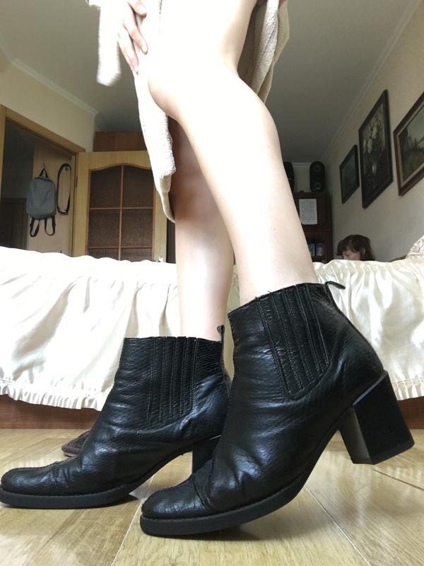 челси на каблуке 5