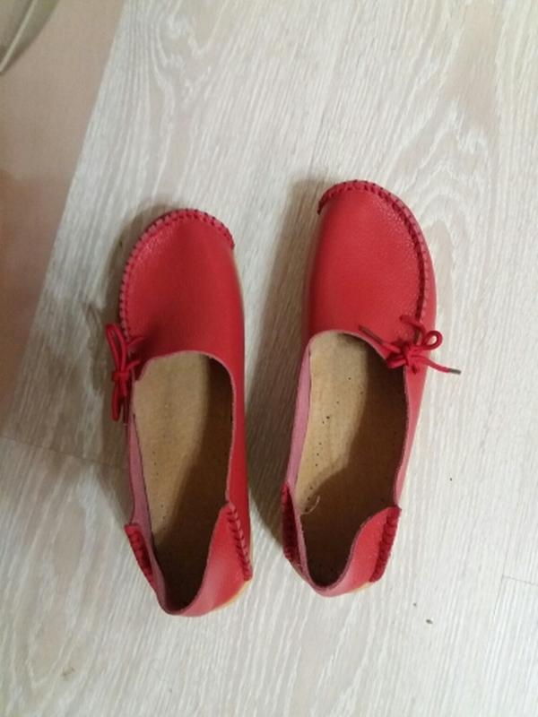 f45fd0d9e553 Кожаные туфли мокасины красные, синие натуральная кожа за 525 грн. | Шафа