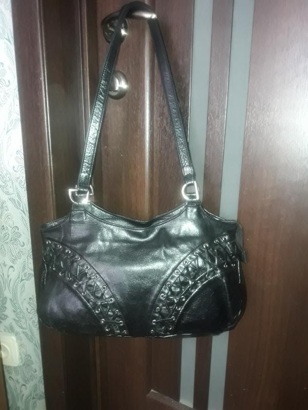 194b23d33f0e Итальянская кожаная сумка francesco marconi Италия, цена - 299 грн ...