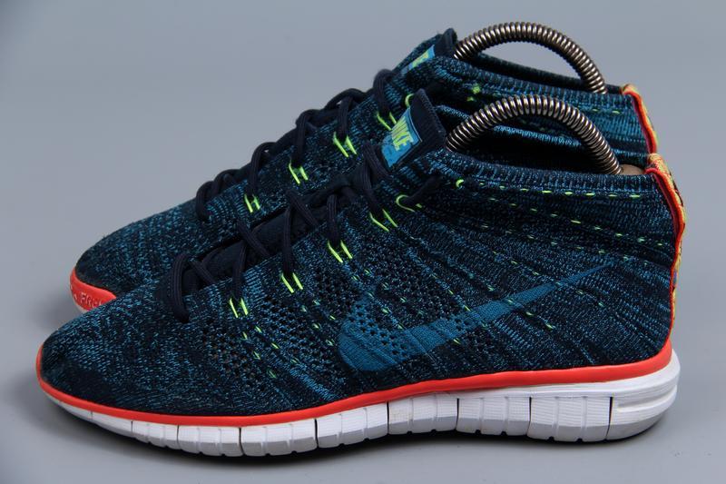 Высокие плетеные кроссовки nike flyknit chukka размер 38.5 (24-24.5см) оригинал! Nike, цена - 1100 грн, #14966267, купить по доступной цене | Украина - Шафа