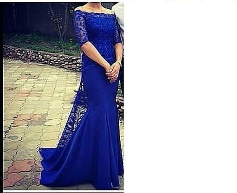 af0a311835cb Выпускное шикарное платье в пол юбка рыбка и гипюр, цена - 399 грн ...