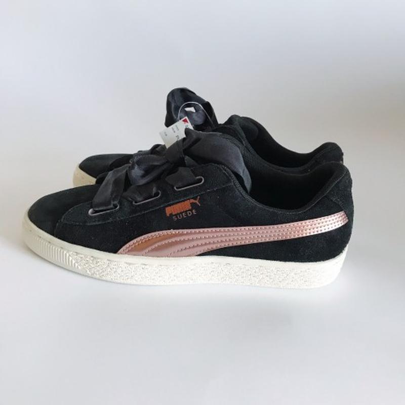 Кеды замшевые puma sneakers blkroseg black c7e9cf28077a3