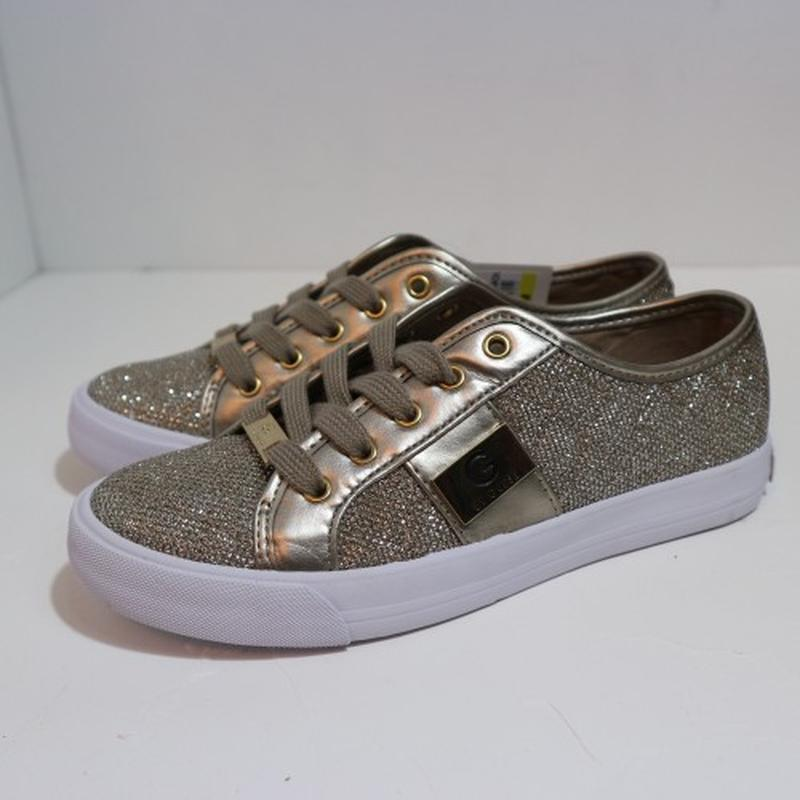 Кеды текстильные g by guess gold metallic Guess f06ad02a52cd6