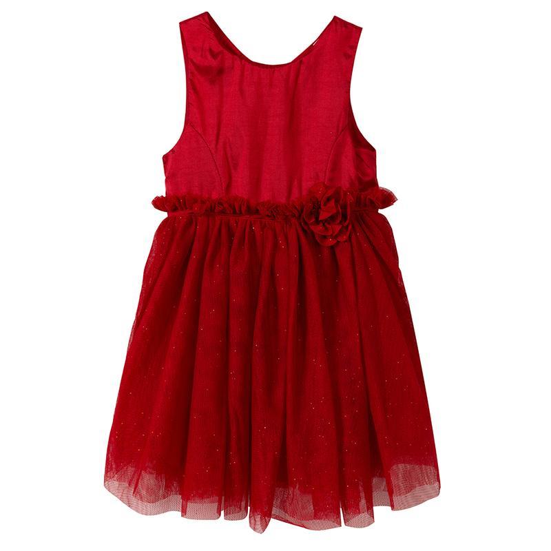 Платье h m красное фатин 4 5 лет  сукня дитяча червона фатинова H M ... 9e3b8bd184f82