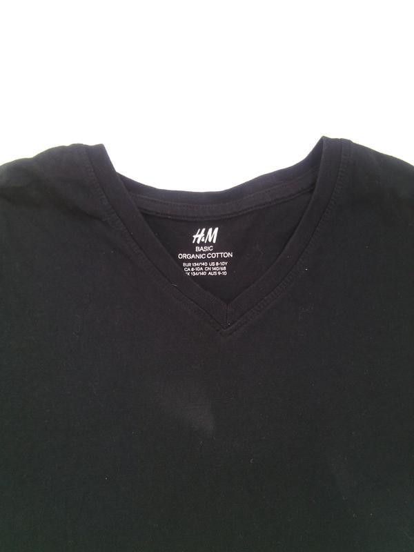 2e267331c897 Футболка h&m черная для девочки 9-10 лет (H&M) за 85 грн.