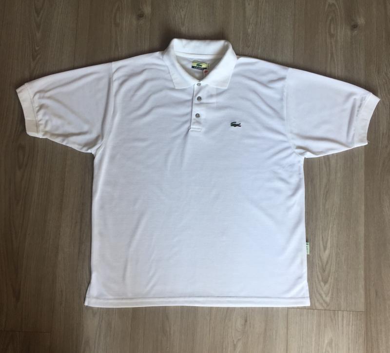 Белая футболка поло lacoste   размер l Lacoste, цена - 250 грн ... b5cd8ff1116