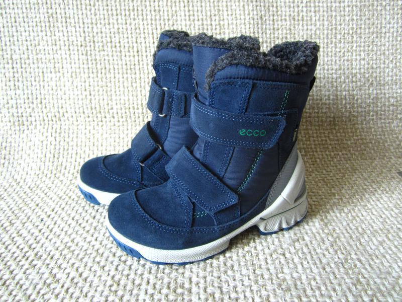 Чобітки утеплені зимові шкіряні для хлопчика ecco biom hike infant розмір  271 ... 0b072f3857eec