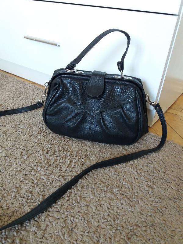fe7e62dc4445 Женская сумка,маленькая сумочка,сумка на длинном ремешке,черная сумка1 фото  ...