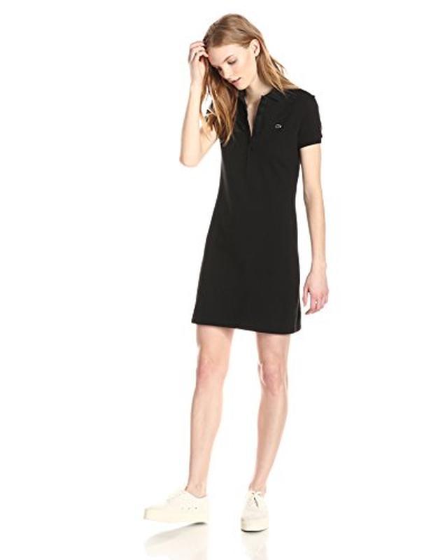 Лакост платье черное