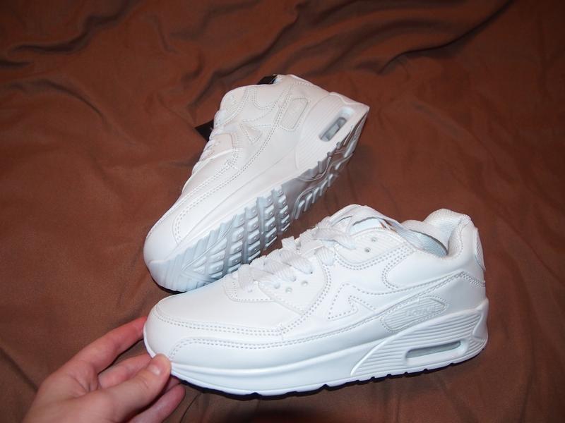Білі кросівки в стилі nike air max (белые кроссовки) 38 - 37.5 - 371 ... b2684cab44da2