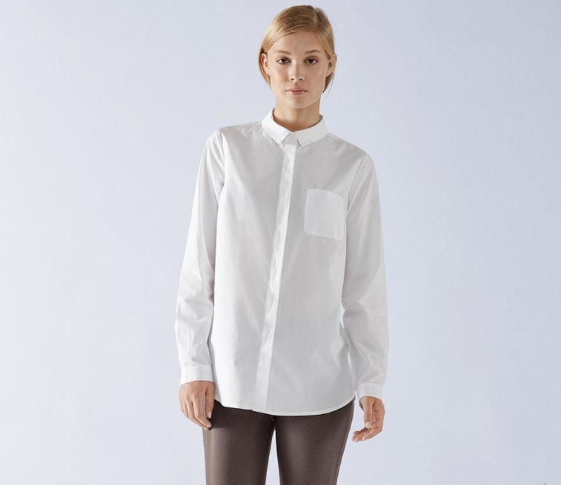 ae42704b429 Классическая белая блуза от tchibo (германия) органический хлопок ...