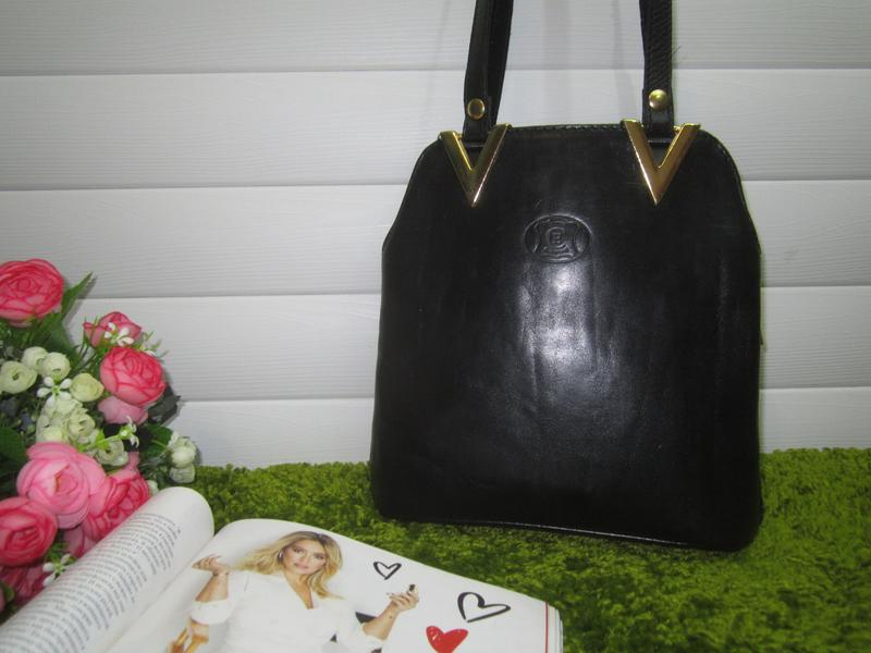 Стильная кожаная сумка испанского бренда pelletterie azzurra нат. кожа1 ... 8ada7f30a3659