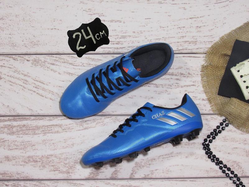 Adidas messi (24 см) оригинал. бутсы для подростка.1 ... 916fe02e33c03