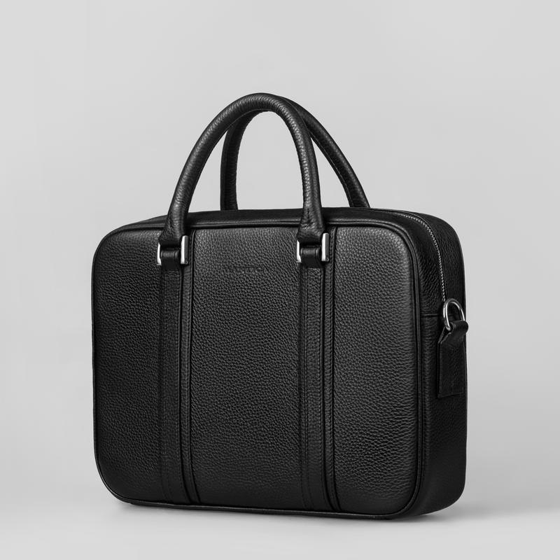 ae3909effd22 Портфель из натуральной кожи, вместительный, мужская сумка, кожаный,  брифкейс1 фото ...