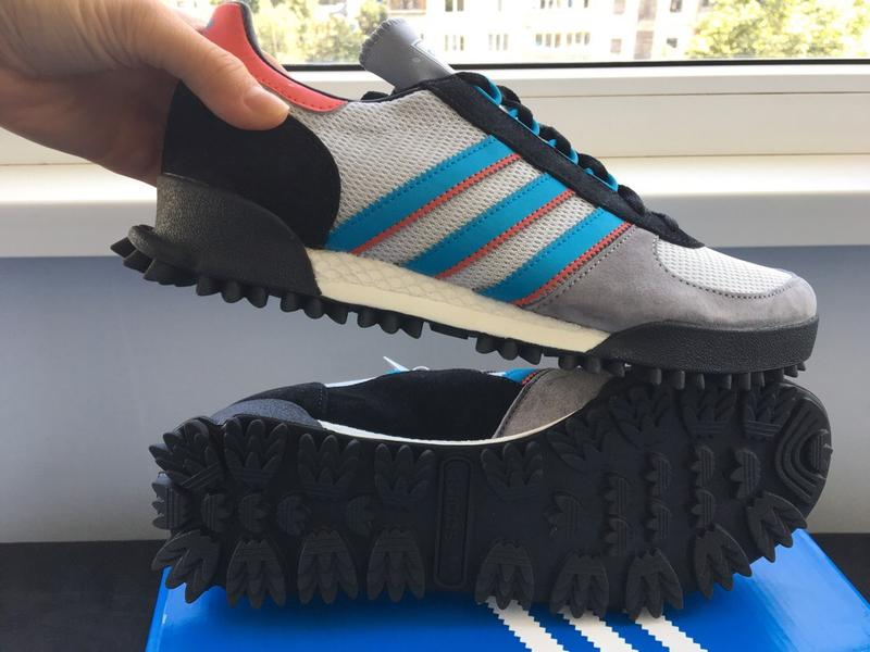 adidas marathon tr blau 42 amerika