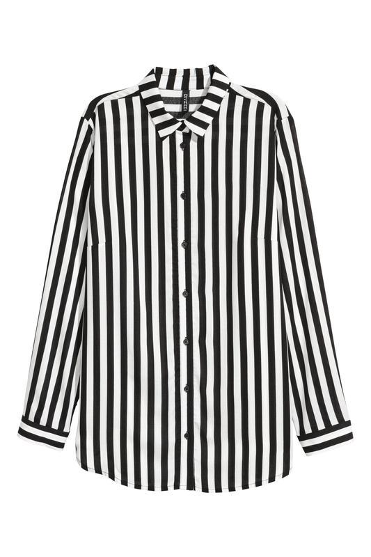 fd20804089f Шикарная блуза-рубашка в полоску hm1 ...