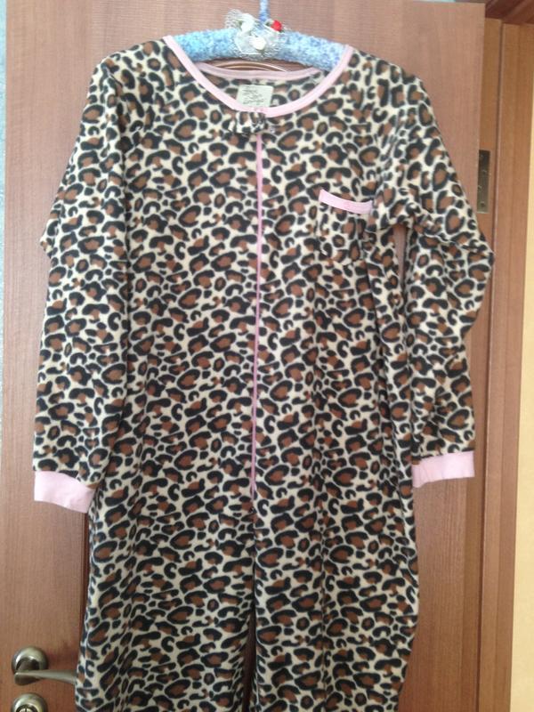 Love to lounge человечек кигуруми слип костюм пижама комбинезон р.16-18 s-  ... f5f3da53785ac
