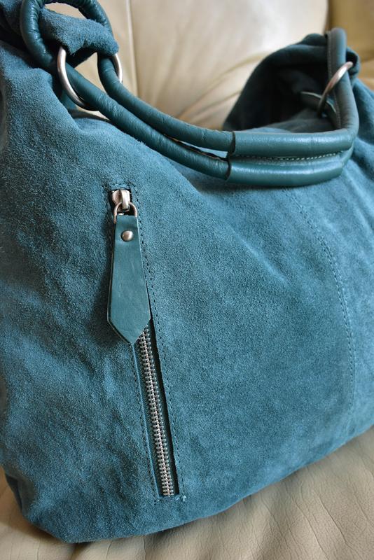 b3a27f1df035 Vip! стильная большая замшевая сумка шоппер – замша + кожа1 фото ...
