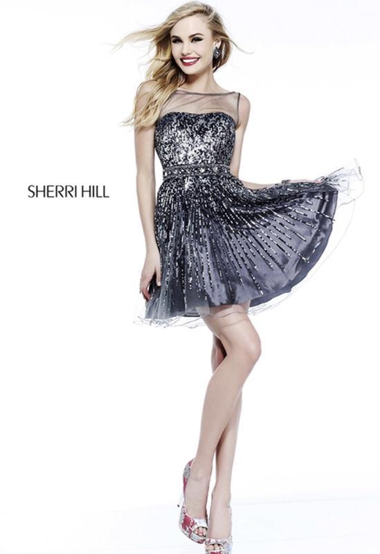 53e3450a2756cb6 Оригинальное выпускное вечернее платье sherri hill Sherri Hill, цена ...