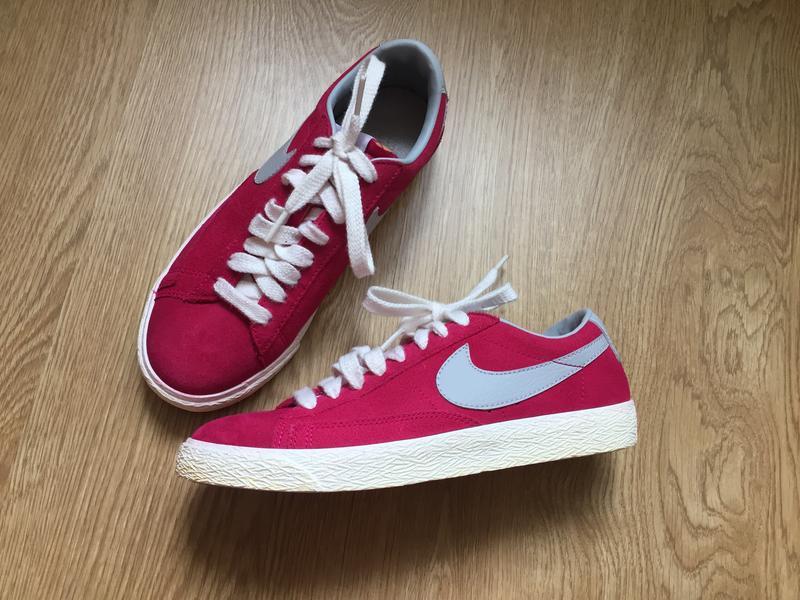 Розовые замшевые кроссовки nike blazer low 38рр Nike, цена - 799 грн ... 59953c7b52c