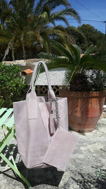 30e257d85c67 Замшевые сумки-шопперы. италия., цена - 1700 грн, #8003303, купить ...