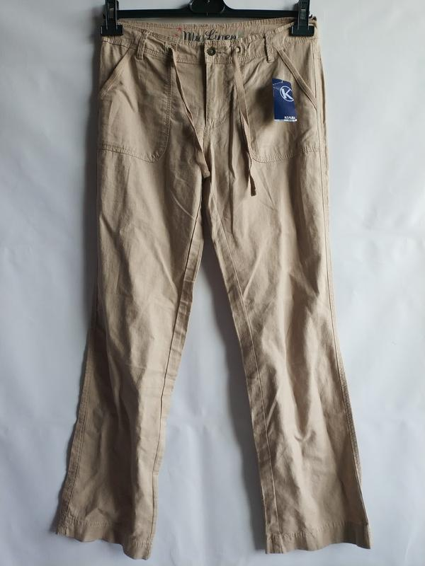 c258d97ee56 Женские льняные штаны штанишки французского бренда kiabi